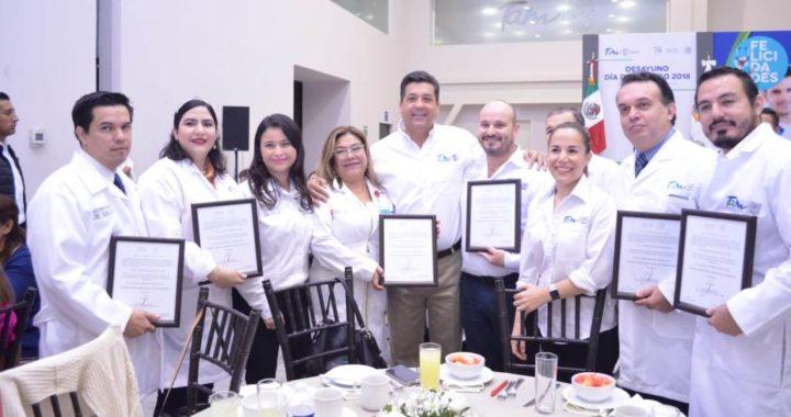 Logra Tamaulipas cifra histórica de 324 unidades médicas acreditadas
