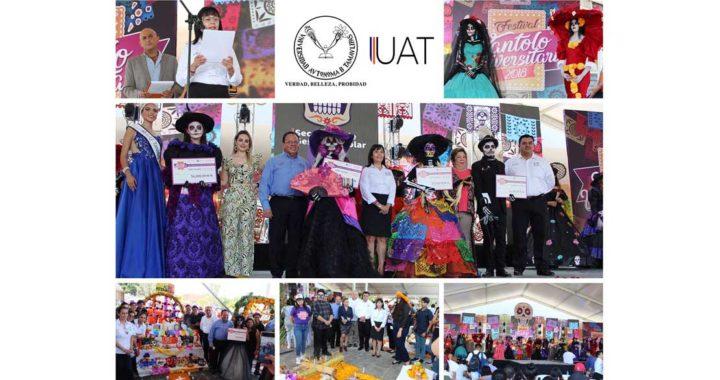 Celebra UAT en Tampico el Festival Xantolo Universitario 2018