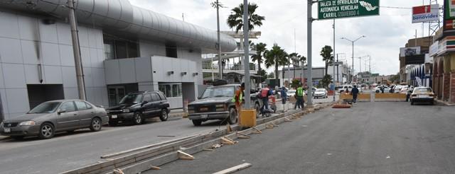 Muy avanzadas obras en puente internacional – Imagenrex