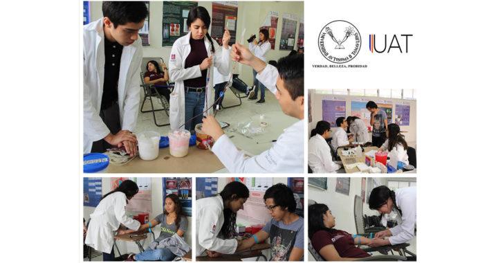 """Inicia UAT en Tampico la campaña """"Más Vida"""" de donación de sangre"""