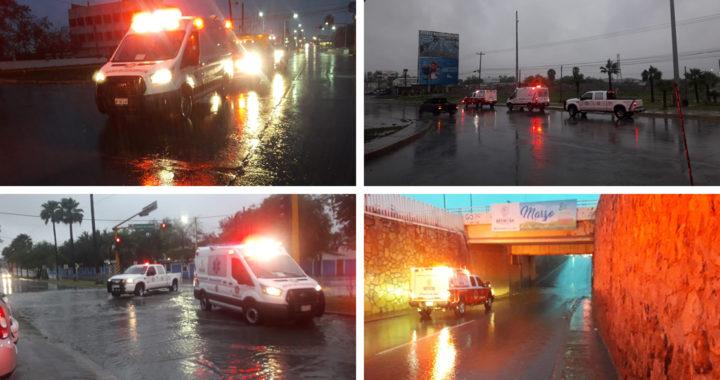 Supervisa PCyB calles y pasos desnivel para prevenir accidentes