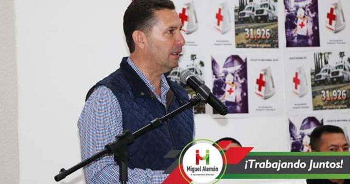 Servando López pone en marcha Colecta Anual de la Cruz Roja