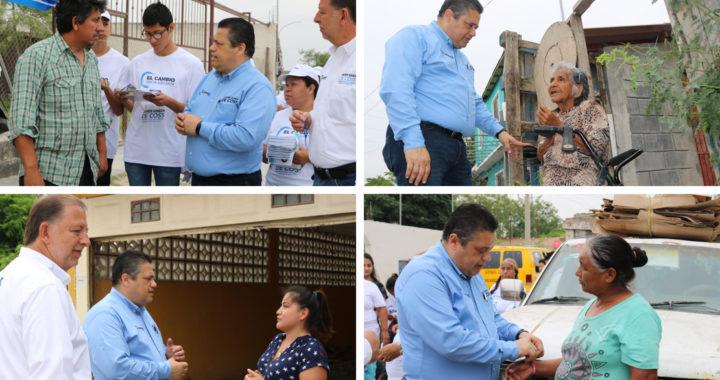 Quiero ser diputado para legislar y seguir fortaleciendo el tejido social en Reynosa: De Coss