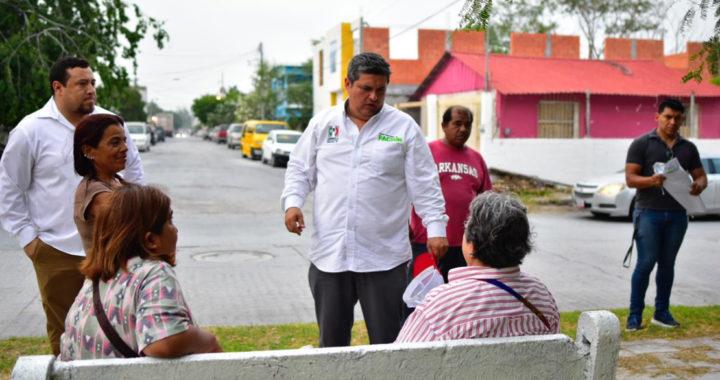 Familias de la colonia la Laguna coinciden con propuestas de Jaime Carranza «Pachín»