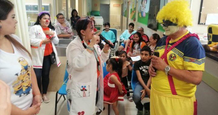 Celebraron hospitales y guarderías del IMSS el «día del niño» con programas artísticos y culturales