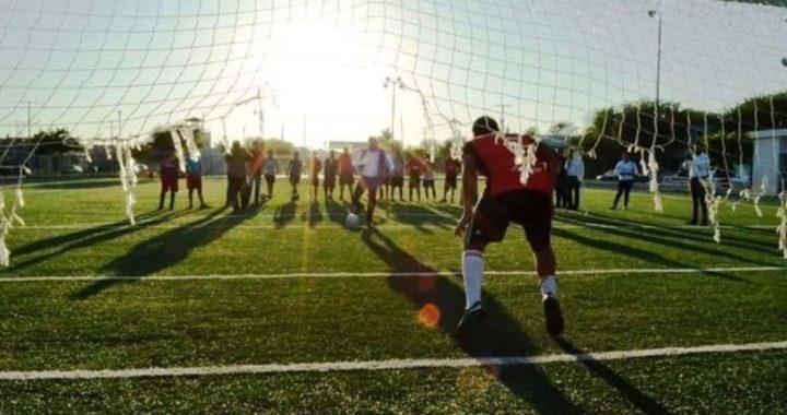 Inaugura alcalde Servando López torneo de futbol «Chuy Chávez»