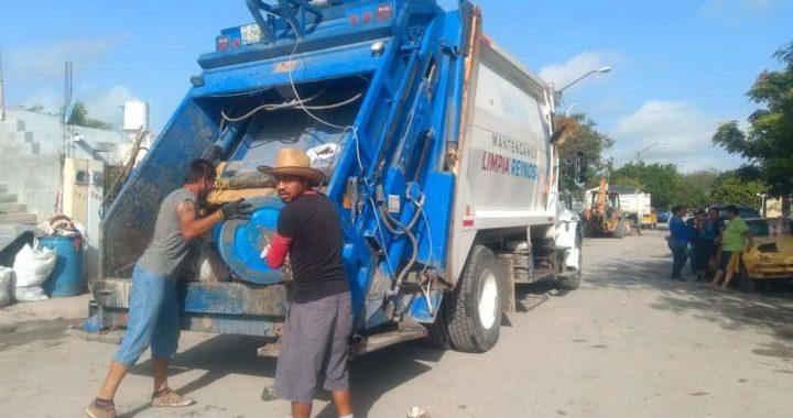 Realiza Municipio trabajo de descacharrización y reparaciones de alumbrado público