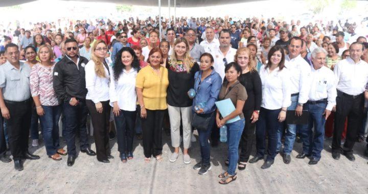 Invierte Gobierno de Reynosa alrededor de 40 MDP en colonia Zedillo y aledañas