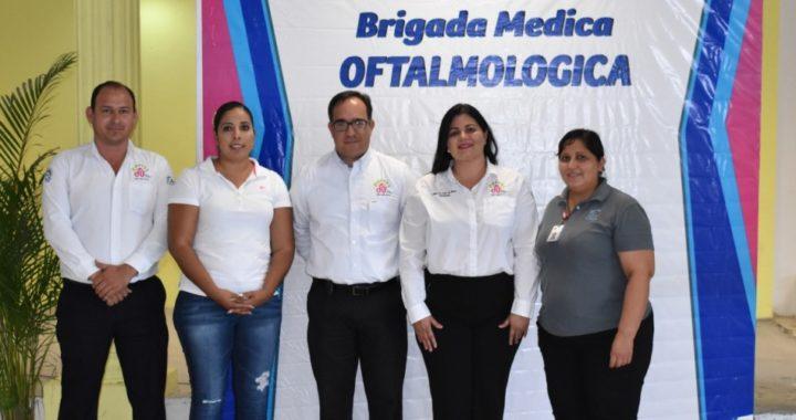Lleva DIF Río Bravo Brigada Oftalmológica a la zona rural