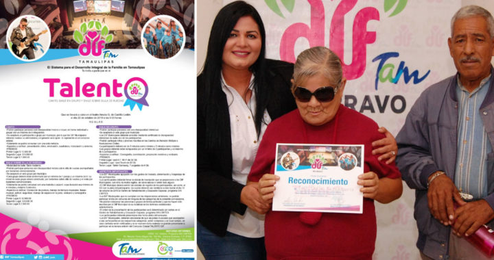 Invita DIF Río Bravo a participar en concurso «Talento DIF»