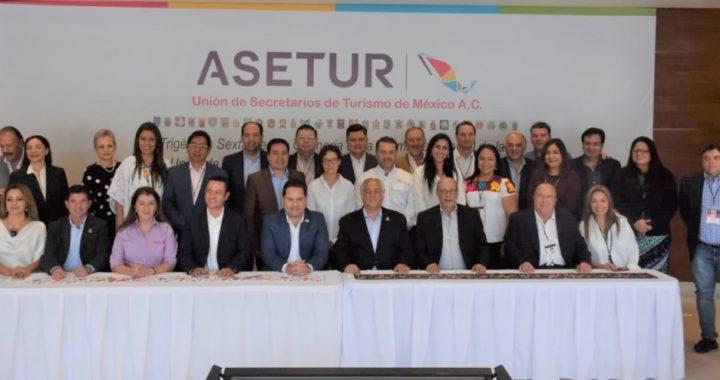 Expresa Turismo Tamaulipas su respaldo a la nueva directiva nacional ASETUR 2019-2020