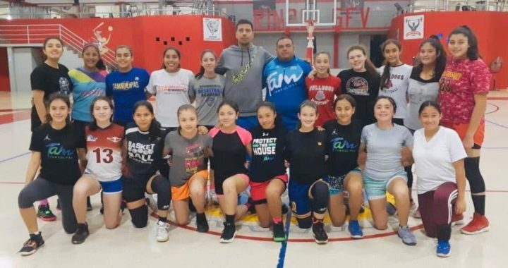Realizan campamentos de handball, voleibol y basquetbol
