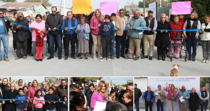 Invierte Gobierno de Reynosa más de 45 MDP en la colonia Juárez