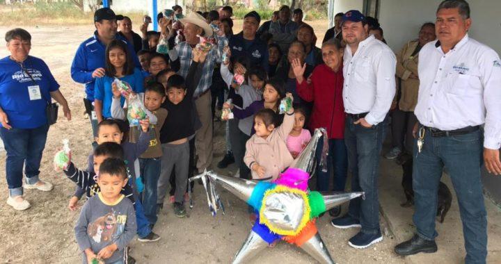 Llevan alegría a los ejidos de Río Bravo