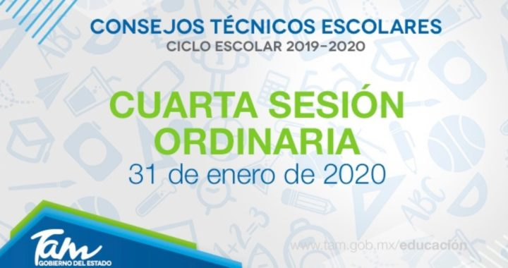 Realiza SET Cuarta Sesión Ordinaria del Consejo Técnico Escolar (CTE)