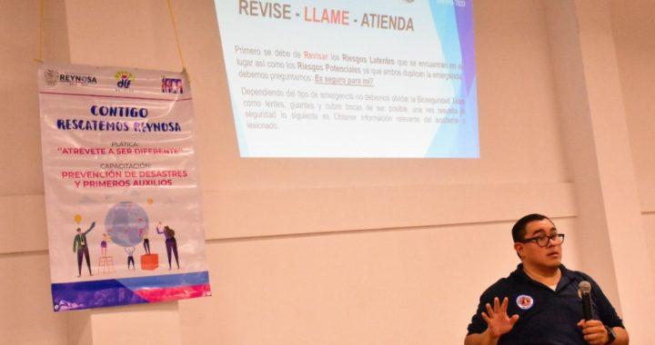 Realizará DIF Reynosa primer curso de capacitación