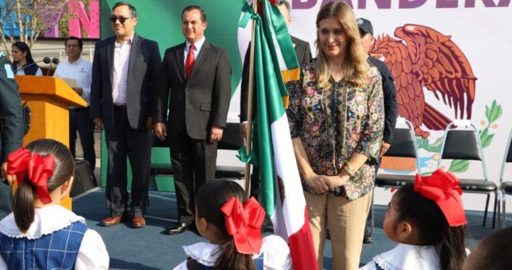 Conmemora Ayuntamiento de Reynosa Día de la Bandera
