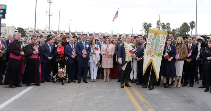 Refrendan Gobernador de Tamaulipas y Presidenta del Congreso de Estados Unidos lazos de fraternidad entre los dos países