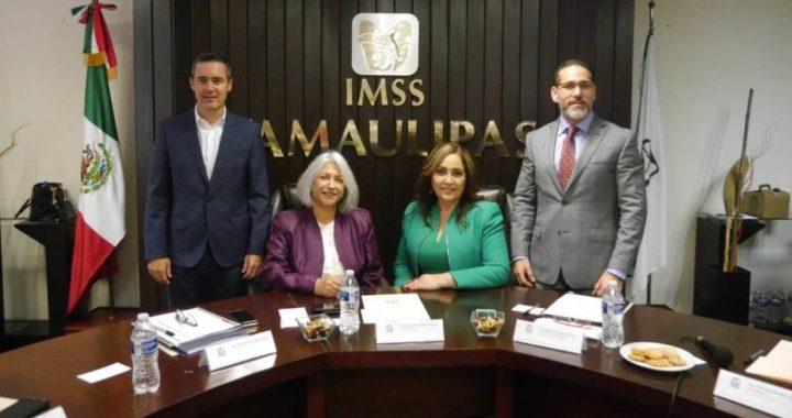 Velia Patricia Silva Delfín tomó posesión como nueva Titular de la Oficina de Representación del IMSS en Tamaulipas