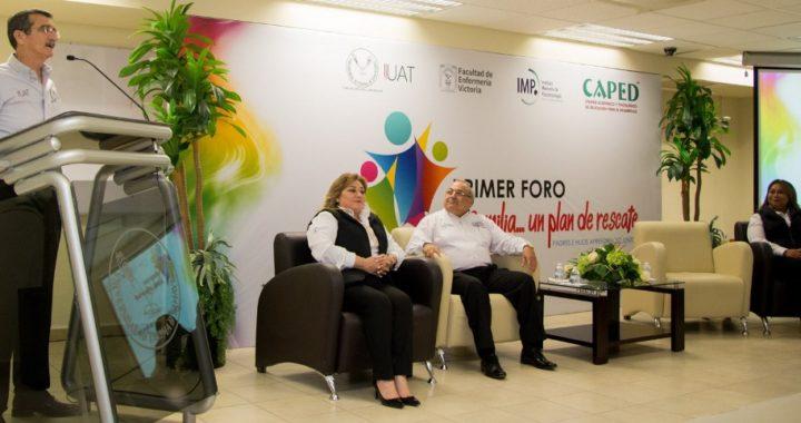 Inaugura Rector de la UAT foro de fortalecimiento familiar