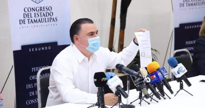 Desmiente Congreso de Tamaulipas a Senador de Morena