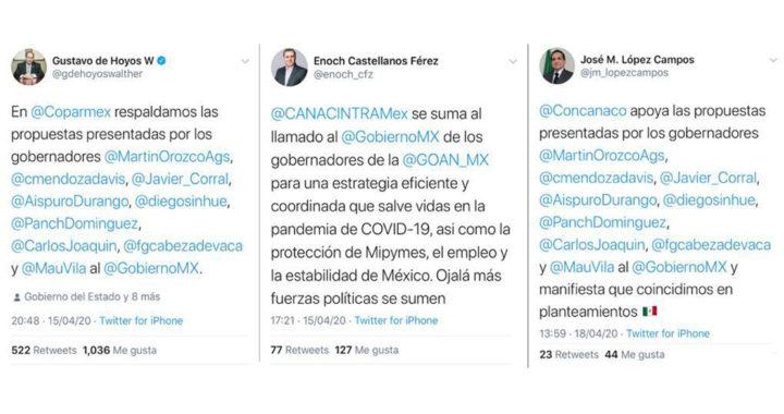 Respaldan organismos empresariales del país propuesta económica de la GOAN ante emergencia sanitaria