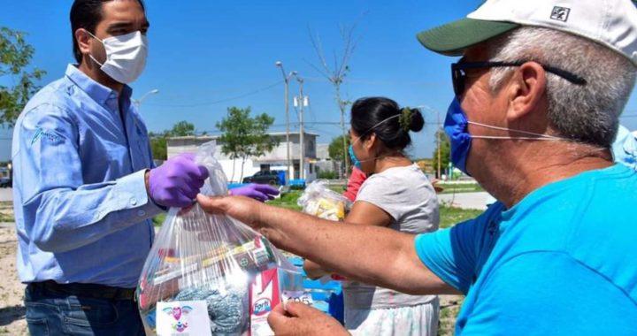 Voluntariado DIF Reynosa lleva ayuda a los grupos y sectores mas vulnerables