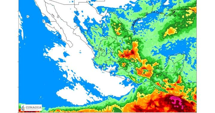 Prevé SMN lluvias intensas y posibles tornados en Tamaulipas
