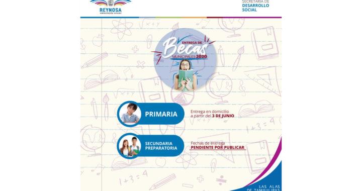 Inicia hoy entrega de becas municipales de educación primaria