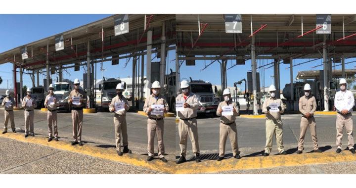 Terminal de Almacenamiento y Despacho Reynosa de PEMEX opera con estrictos protocolos sanitarios contra COVID-19