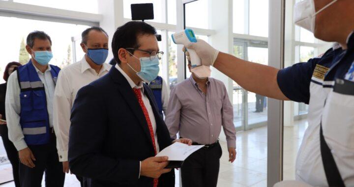 Paralelo a la atención del Covid-19, el ISSSTE actualiza y fortalece su infraestructura hospitalaria: Ramírez Pineda