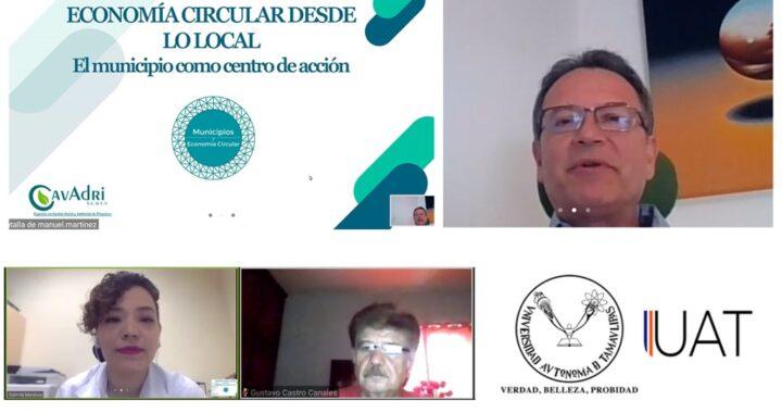 """Imparte UAT """"La Economía Circular"""" en semana de la sustentabilidad"""